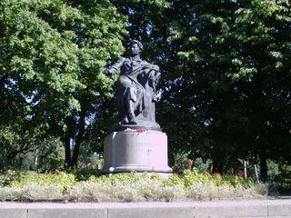 Denkmal von A.S.Puschkin - Denkmal, Puschkin, Russland, Literatur, Poet, Landeskunde