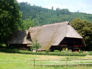 Vogtsbauernhof #1 - Schwarzwald, Vogtsbauernhof, Bauernhof, Landwirtschaft, Gutach, Schwarzwaldhaus, Architektur, Beruf