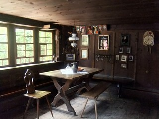 Wohnstube #1 - Schwarzwald, Vogtsbauernhof, Bauernhof, Landwirtschaft, Gutach, Schwarzwaldhaus, Wohnstube, Zimmer