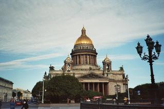 Isaak-Kathedrale - Kathedrale, Dom, Sankt Petersburg, Russland, Landeskunde, Großstadt, Russisch, Sehenswürdigkeit, Wahrzeichen, Kuppelbau