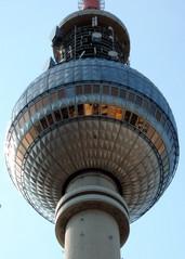 Berlin - Fernsehturm#3 - Berlin, Fernsehturm, Kugel, Aussicht, Architektur, Haupstadt