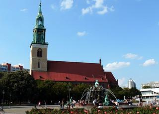 Berlin Marienkirche - Berlin, Marienkirche, Hauptstadt, Sehenswürdigkeiten, Backsteingothik
