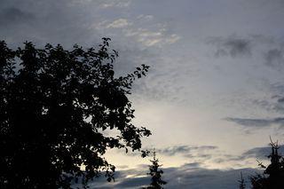 graue Wolken am Abend - Wolken, Himmel, Abend, grau, Klima, Wetter, Regenwolke, Wolke, Regen, Gewitter