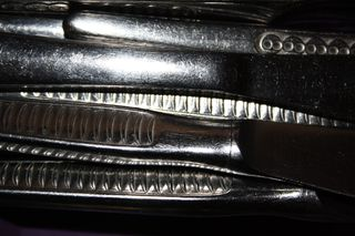Was_ist_das#Haushalt - Messer, Silber, Licht, Besteck, reflektieren