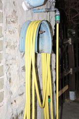Gartenschlauch - Garten, Schlauch, Wasserleitung, flexible Leitung, Schlauchleitung, Transport, Bewässerung