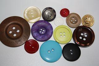 Vielfalt der Knöpfe - Knopf, Form, Kreis, Vielfalt, Bekleidung, Konfektion, Verschluss