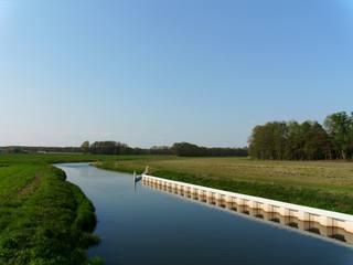 Flusslandschaft#1 - Fluss, Landschaft, Flusslandschaft, Löcknitz, Prignitz, Flachland, Brandenburg, Deutschland, Altmoränenlandschaft