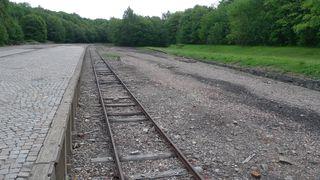 Rampe im KZ Buchenwald - Buchenwald, Drittes, Reich, SS, Konzentrationslager, Verfolgung, Weimar, Geschichte, Nationalsozialismus, Vernichtung
