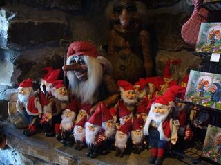 Trolle - Troll, Weihnachten, freundlich, furchterregend, Fantasie, unheimliche Wesen, Souvenirs, Schweden