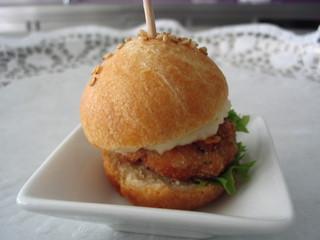 Miniburger - Miniburger, Fingerfood, Fastfood, Schnellgericht, Brötchen, Burger