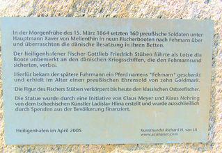 Ostseefischer #2 - Ostseefischer, Denkmal, Beschreibung, Information