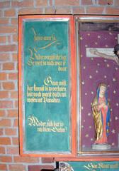 Letzte Worte Jesu auf Platt #1 - Kirche, Altar, Triptichon, Letzte Worte, Jesus, Platt, Plattdeutsch, Religion, Glaube, Tod, Sterben