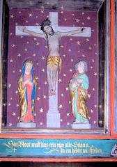 Letzte Worte Jesu #3 - Kirche, Altar, Triptichon, Letzte Worte, Jesus, Platt, Plattdeutsch, Religion, Glaube, Tod, Sterben
