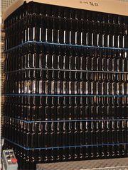 Glasproduktion # 4 - Glas, Flasche, Firma, Betrieb, Herstellung, Prozess, Produktion, Verpackung, verpacken, Chemie, Werkstoff