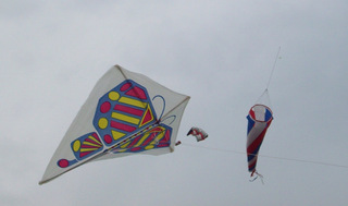 Drachen - Drachen, Wind, Flug, fliegen, Deltoid, Viereck, Drachenviereck, Auftrieb, Physik