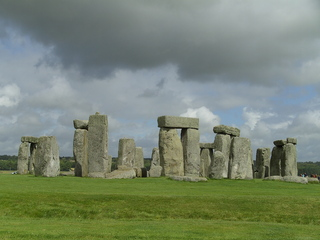 Stonehenge 1 - Stonehenge, Großbritannien, Steinkreis, Weltkulturerbe, Frühgeschichte, Jungsteinzeit, Wiltshire, Grabanlage, Megalithe, Megalith, Pfeilersteine, Pfeilerstein, Decksteine, Deckstein