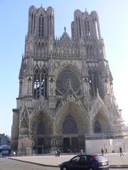 Reims Cathédrale Notre-Dame#1 - Frankreich, Reims, Kirchen cathédrale, Kathedrale, Notre-Dame, Krönung, Gotik, Weltkulturerbe, Architektur