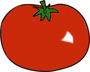 Tomate rot - Zeichnung - Tomate, Gemüse, Nachschattengewächs, Zeichnung, rot, Illustration