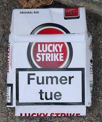 Warnhinweis  #1 - fumer, tuer, danger