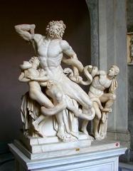 Laokoon-Gruppe - Rom, Laokoon, Laokoon-Gruppe, Klassik, Skulptur, Statue, Marmor, Dynamik, Troja, Lessing, Winckelmann