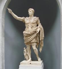 Augustus - Statue - Augustus, Augustus von Primaporta, römischer Kaiser, Rom, Skulptur, Statue, Marmor