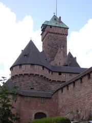 Haut-Koenigsbourg - Haut-Koenigsbourg, Elsass, Burg, Ritterburg