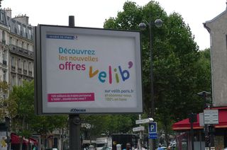 Publicité  vélos libres - Paris, vélo, vélos, vélo libre, Fahrard, Fortbewegungsmittel