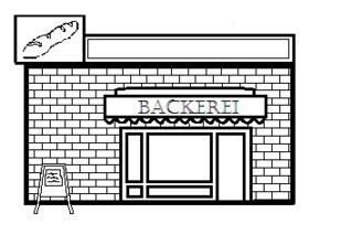 Bäckerei - Gebäude, Stadt, Bäckerei, Brot