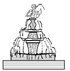 Springbrunnen - Gebäude, Monument, Springbrunnen