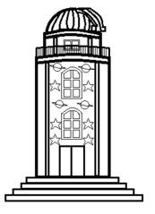 Sternwarte - Gebäude, Stadt, Sternwarte, Observatorium, Sterne