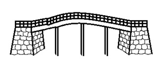 Brücke - Gebäude, Monument, Stadt, Brücke, Wörter mit ck, Wörter mit ü