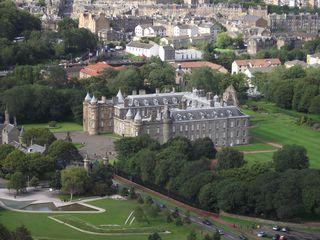 Holyrood Palace Edinburgh - Queen, Schottland, Edinburgh, Elisabeth II., Maria Stuart, Palace of Holyrood House, Holyrood Palace, Residenz, Königshaus, Schloss