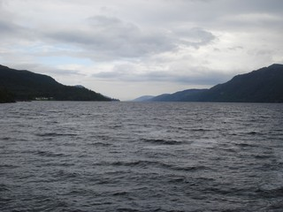 Loch Ness - Loch Ness, Schottland, Nessie, See, Wasser, Kaledonischer Graben, Caledonian Rift, Binnensee