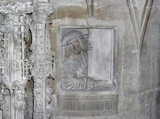 Dom zu St. Stephan Wien 2 - Österreich - Dom, Gotik, Stephansdom, Stefansdom, Wahrzeichen, Wien, Fenstergucker, Relief, Kanzel, Halbplastik, Kirche, Dom, Meister Pilgrim