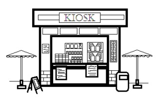 Kiosk - Gebäude, Stadt, Geschäft, Kiosk, Bude, einkaufen, Verkaufsstelle