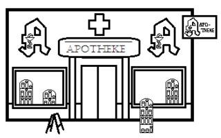 Apotheke - Gebäude, Stadt, Apotheke, Geschäft, Medikamente, Arzneimittel, Medizinprodukte, Arzneimittelversorgung