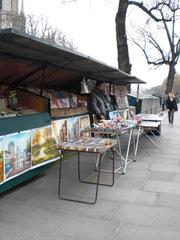Bouquiniste à Paris - Frankreich, civilisation, Paris, Seine, bouquiniste, Bücher, Geschäft, livre, magasin
