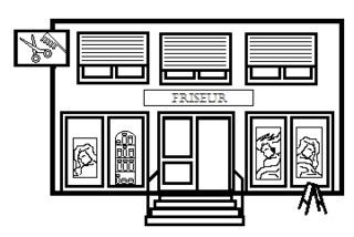 Friseursalon - Gebäude, Stadt, Geschäft, Friseursalon, Haarsalon