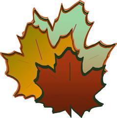 bunte Ahornblätter - Herbst, Gestaltung, Ahorn, Blätter, Blatt, Ahornblätter, herbstlich