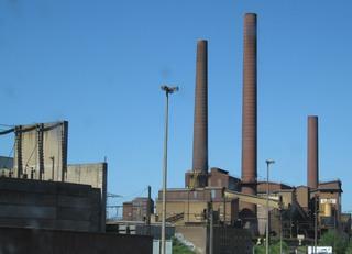 Schornsteine - Fabrikschornsteine, Schornsteine, Abgase, Industrie, Umweltverschmutzung, Fabrik, Fabrikanlage, Chemie, Treibhauseffekt