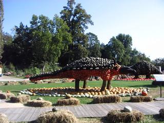 Kürbisdeko Dinos#1  - Kürbis, Dekoration, Dino