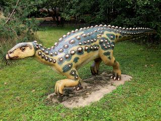Dinosaurier in einem Dino-Park #8 - Scelidosaurus - Urzeit, Dinosaurier, Saurier, groß, ausgestorben, Urzeittier, Urzeittiere, Echse, Evolution, Drache, Biologie, Dino, Fossil, Scelidosaurus, Jura