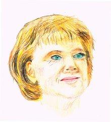 Berühmte Köpfe - Angela Merkel - Angela, Merkel, Bundeskanzlerin, Politik, CDU