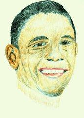 Berühmte Köpfe - Barack Obama - Barack Obama, USA, Präsident, Politik, Demokrat