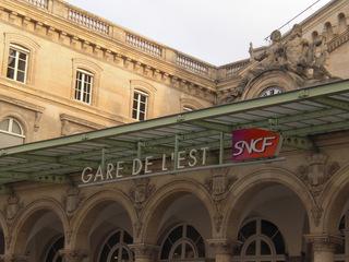 Gare de l'Est - Frankreich, civilisation, gare, Bahnhof, Paris, gare de l'Est, Kopfbahnhof