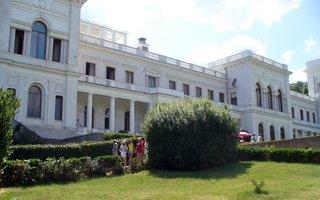 Livadija, Zarenpalast, Ort der Alliiertenkonferenz von Jalta - Livadija, Jalta, Krim, Ukraine, Sowjetunion, Konferenz von Jalta, Alliierte, Zweiter Weltkrieg, Anti-Hitler-Koalition