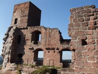 Burg Altdahn #1 - Burg, Mittelalter, Pfalz, Sandstein, Architektur