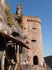 Burg Altdahn #2 - Burg, Mittelalter, Architektur, Sandstein