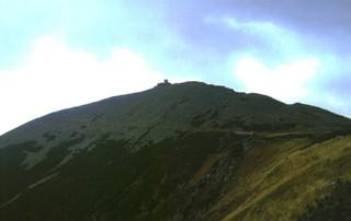 Schneekoppe - Schneekoppe, Riesengebirge, Sudeten, Polen, Tschechien, Berg, Gipfel