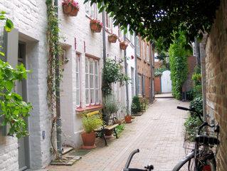 Lübeck, Gängeviertel #1 - Lübeck, Gänge, Gang, Gängeviertel, Straße, eng, schmal, malerisch, Mittelalter, Altstadt